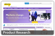 product research button link
